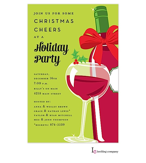 christmas cocktail party invitations | christmas cocktail party, Party invitations