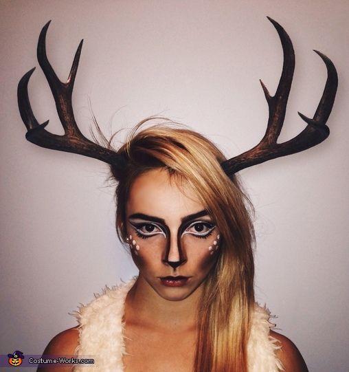 bambi deer costume costumes deer costume and halloween. Black Bedroom Furniture Sets. Home Design Ideas