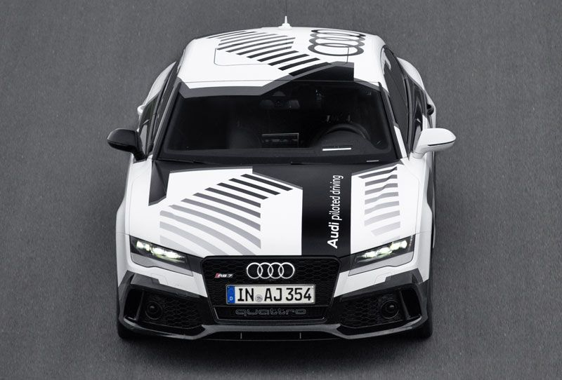 audi a fait rouler sa rs7 autonome sur le circuit d hockenheim automobile audi voiture et. Black Bedroom Furniture Sets. Home Design Ideas