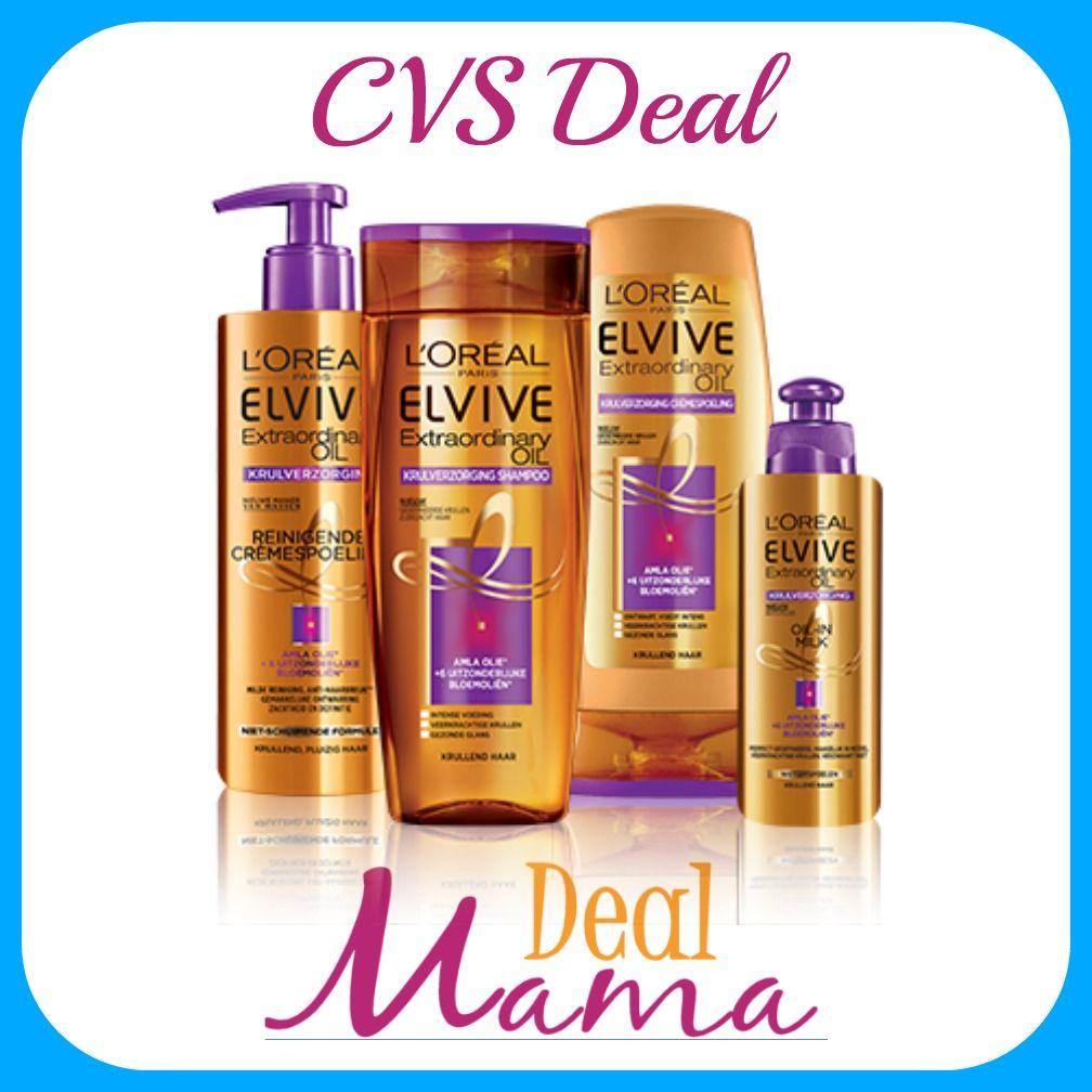 CVS WOW! Three Free L'Oreal Elvive Hair Treatments