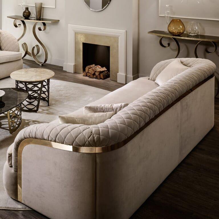 Modern Italian Designer Quilted Nubuck Leather Sofa Juliettes Interiors Italian Sofa Designs Modern Sofa Designs Luxury Couch