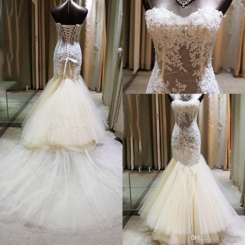Sequin Mermaid Wedding Dress