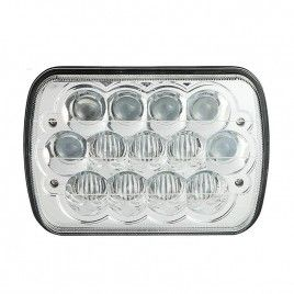5x7 inch 39W CREE Hi-lo Beam Sealed Beam Headlight with Atmosphere Light