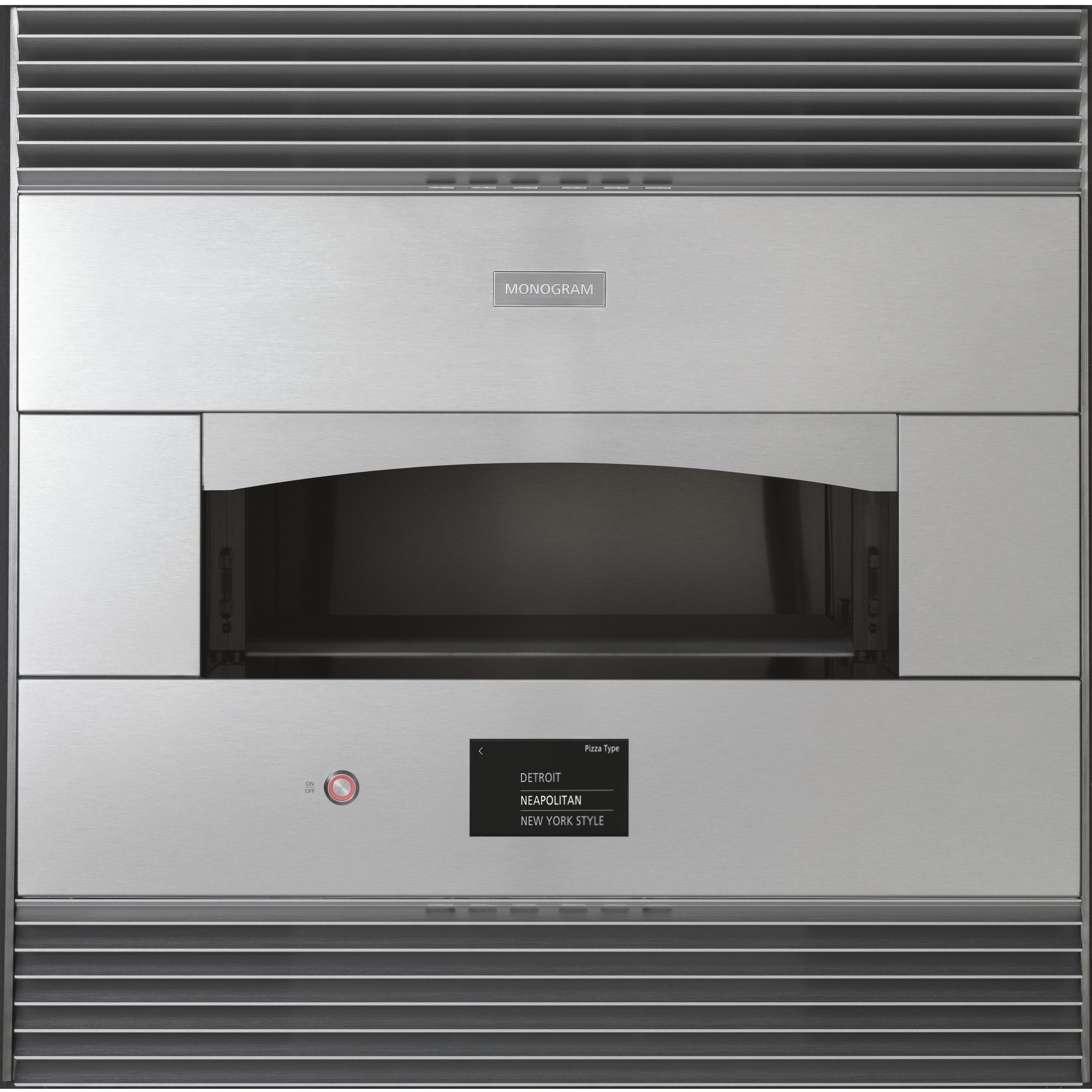 Monogram Builtin Pizza Oven ZEP30FLSS Monogram