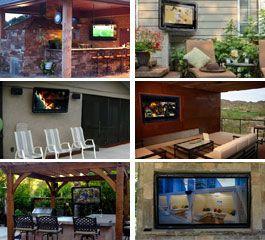 Weatherproof Outdoor TV Enclosures - The TV Shield
