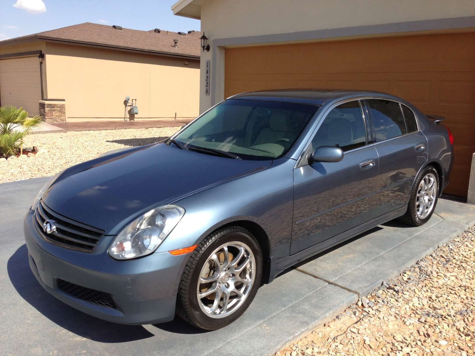 Make: Infiniti Model: G35 Year: 2005 Body Style: Sedan Exterior Color: