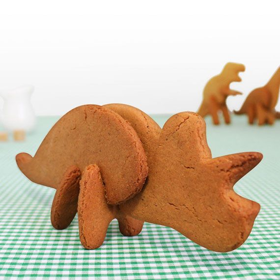 Cookie Cutters Make Parts For Delicious 3D Dinosaurs | OhGizmo! Oh my gosh i want these!