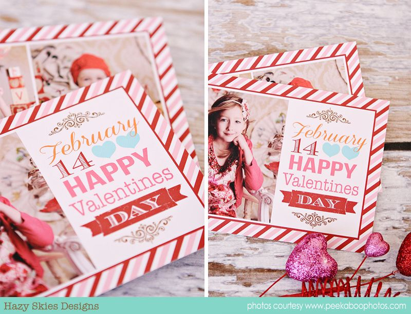 Valentine S Day Card Template For Photographers Valentines Day Card Templates Card Template Valentines