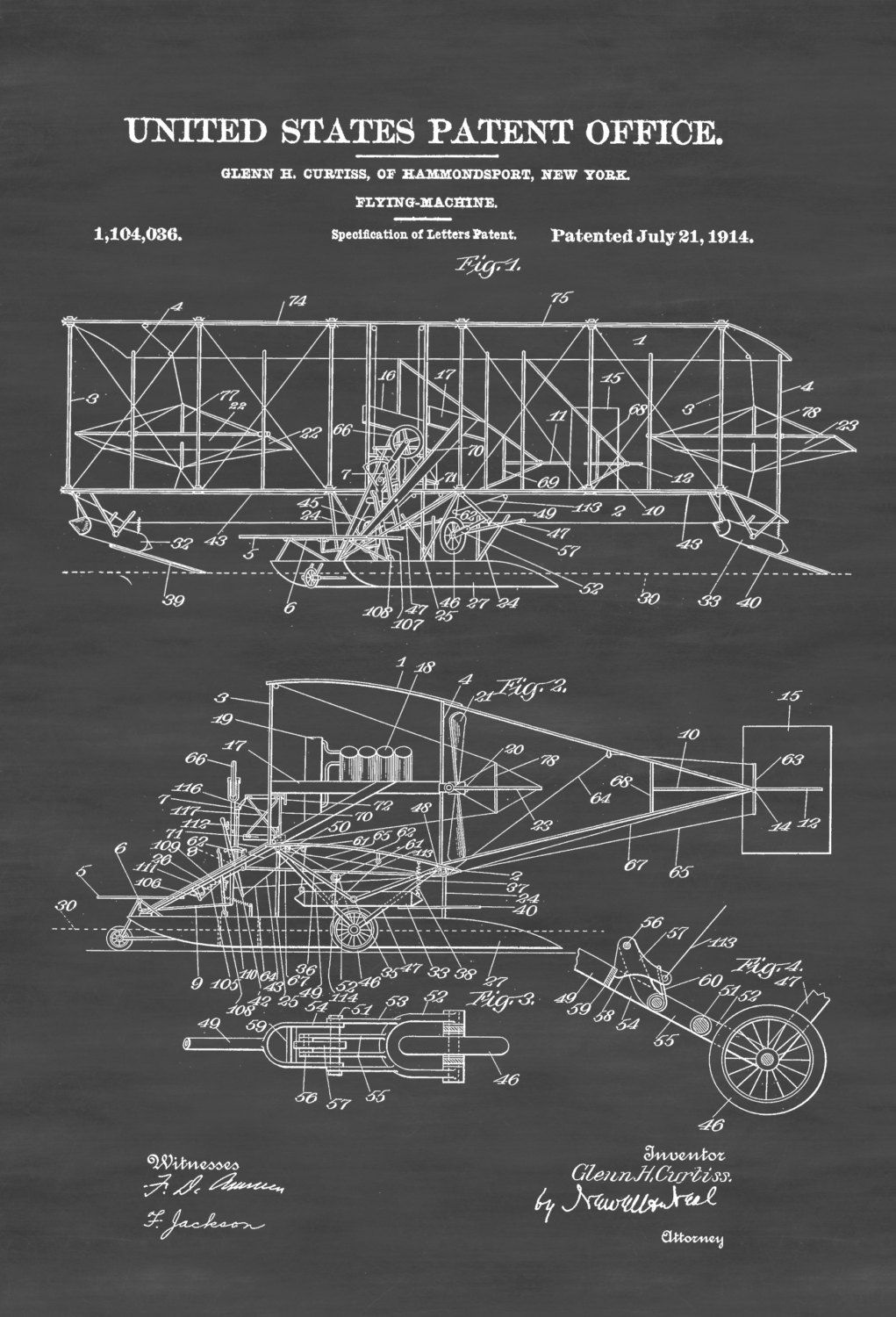 New to coloredlens on etsy curtiss flying machine patent print new to coloredlens on etsy curtiss flying machine patent print vintage aviation art airplane art airplane blueprint pilot gift aircraft decor airplane malvernweather Image collections