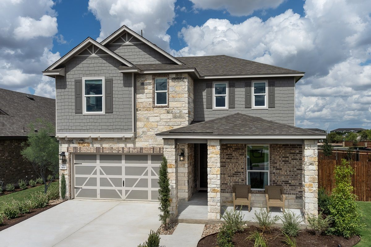 Willow Trace Community Kb Homes New Homes Austin New Homes For Sale