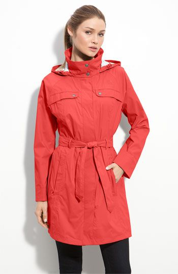 9ba302908 The North Face 'Grace' Hooded Trench Coat | A hood would be good for ...