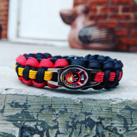 Marines Usmc Firefighter Paracord Bracelet For Sale In Norman Ok