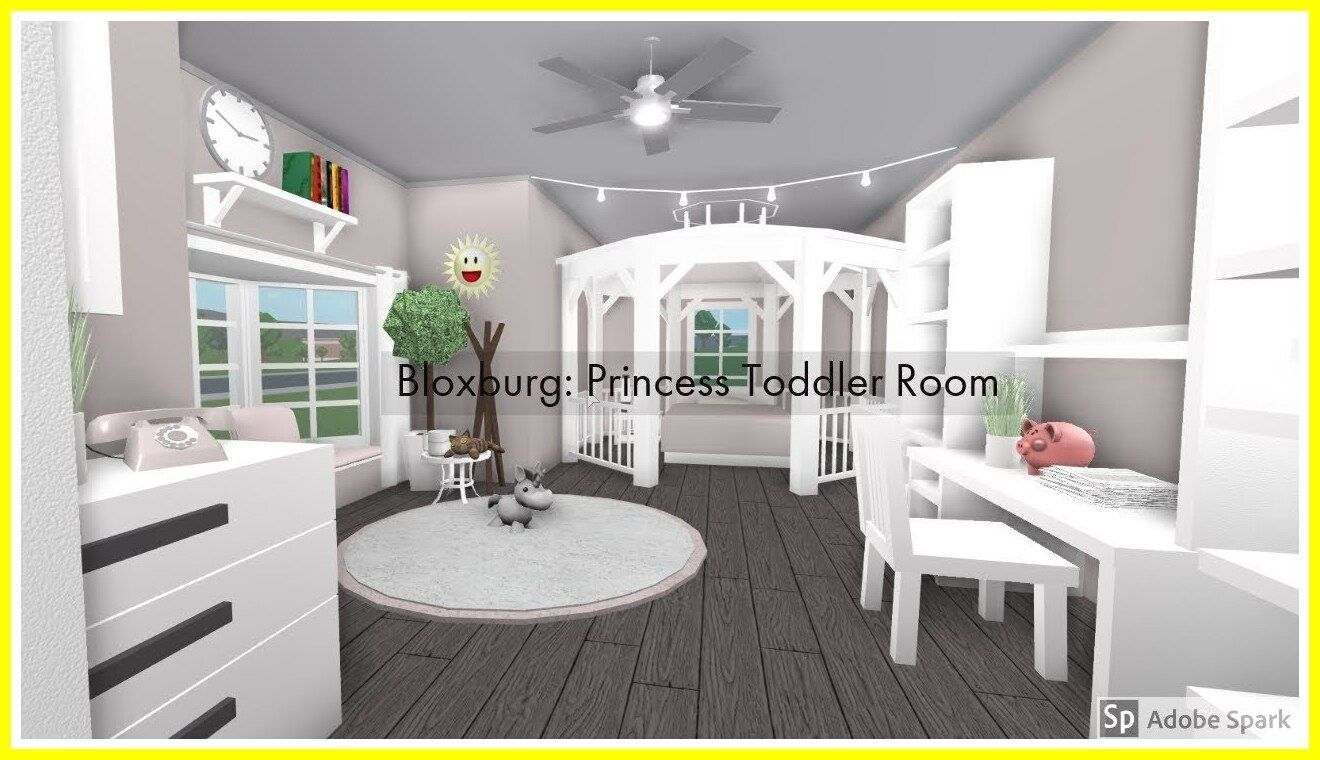 47 Reference Of Kids Room Ideas For Girls Toddler Bloxburg | 1000 | Simple Bedroom Design, Room Design, Kids Room Design