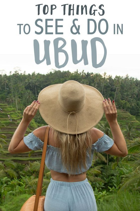 Whether you are looking for a traditional Balinese experience or a relaxing getaway, Ubud is a dream destination for most people traveling in Bali. Here's a list of the top things to see and do in Ubud!