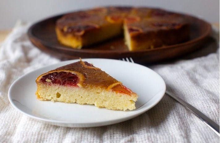 Blood Orange Almond And Ricotta Cake Dessert Pinterest