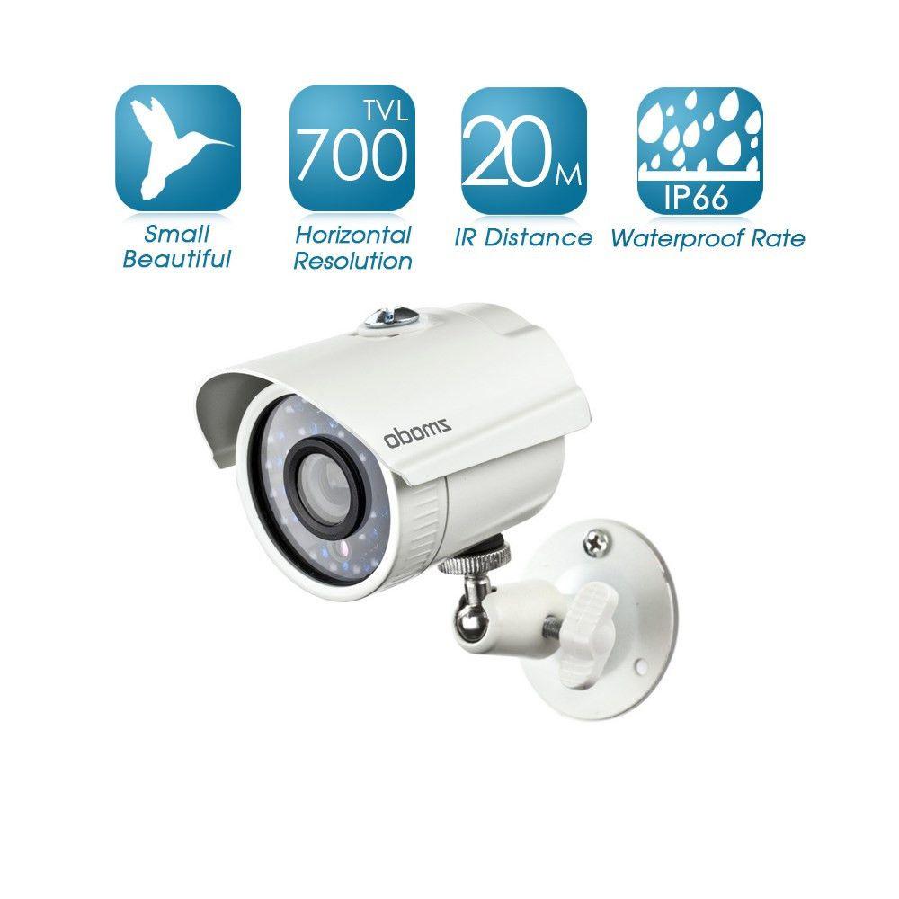 US Direct Zmodo 700TVL Ultra HiReso Waterproof Infrared