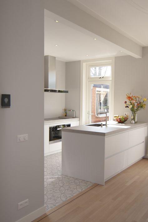 Arbeitsplätze Grau Küche Küche Gestalten, Küchen Design, Küche Mit  Kochinsel, Küche Planen,