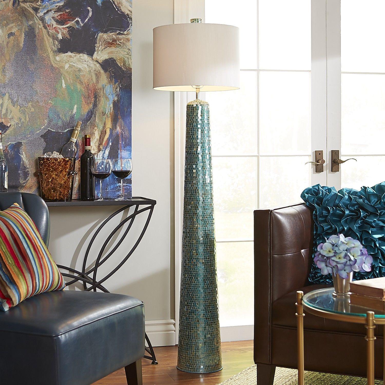 Oceans Mosaic Floor Lamp | Mosaic floors, Floor lamp and Mosaics