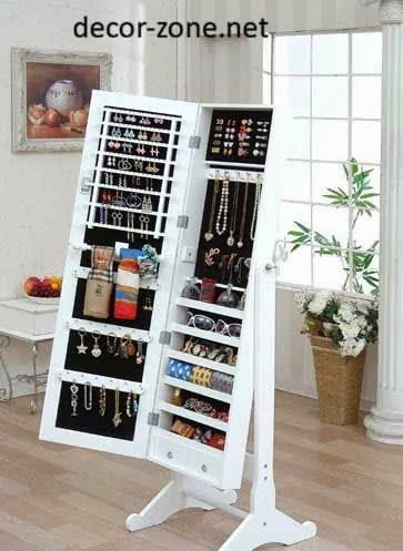 Creative Jewelry Storage Ideas And Solutions In The Interior Mirror Jewelry Storage Jewelry Mirror Home