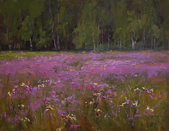 Minnesota Meadow by Kami Mendlik Oil ~ 11 x 14