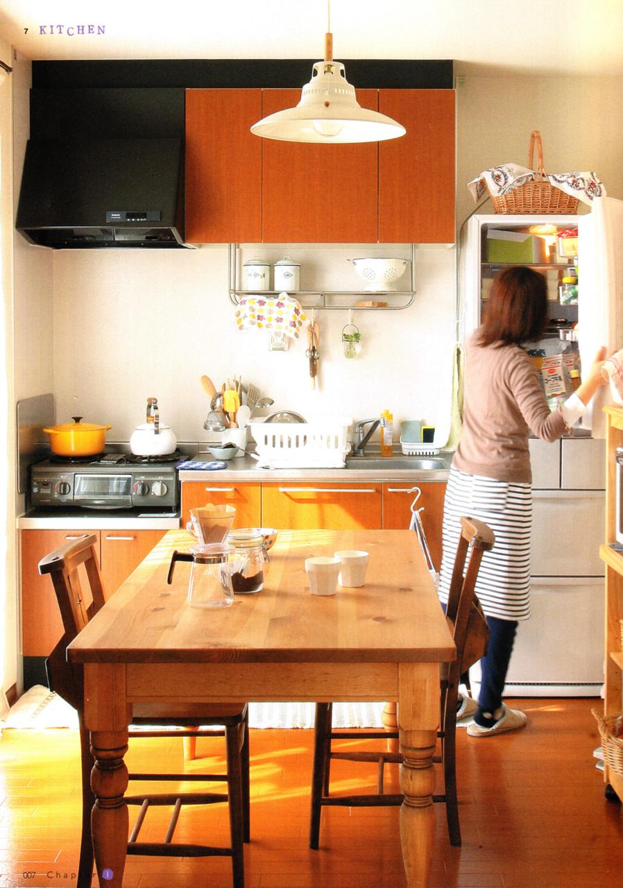Small Japanese Kitchen Design Ideas