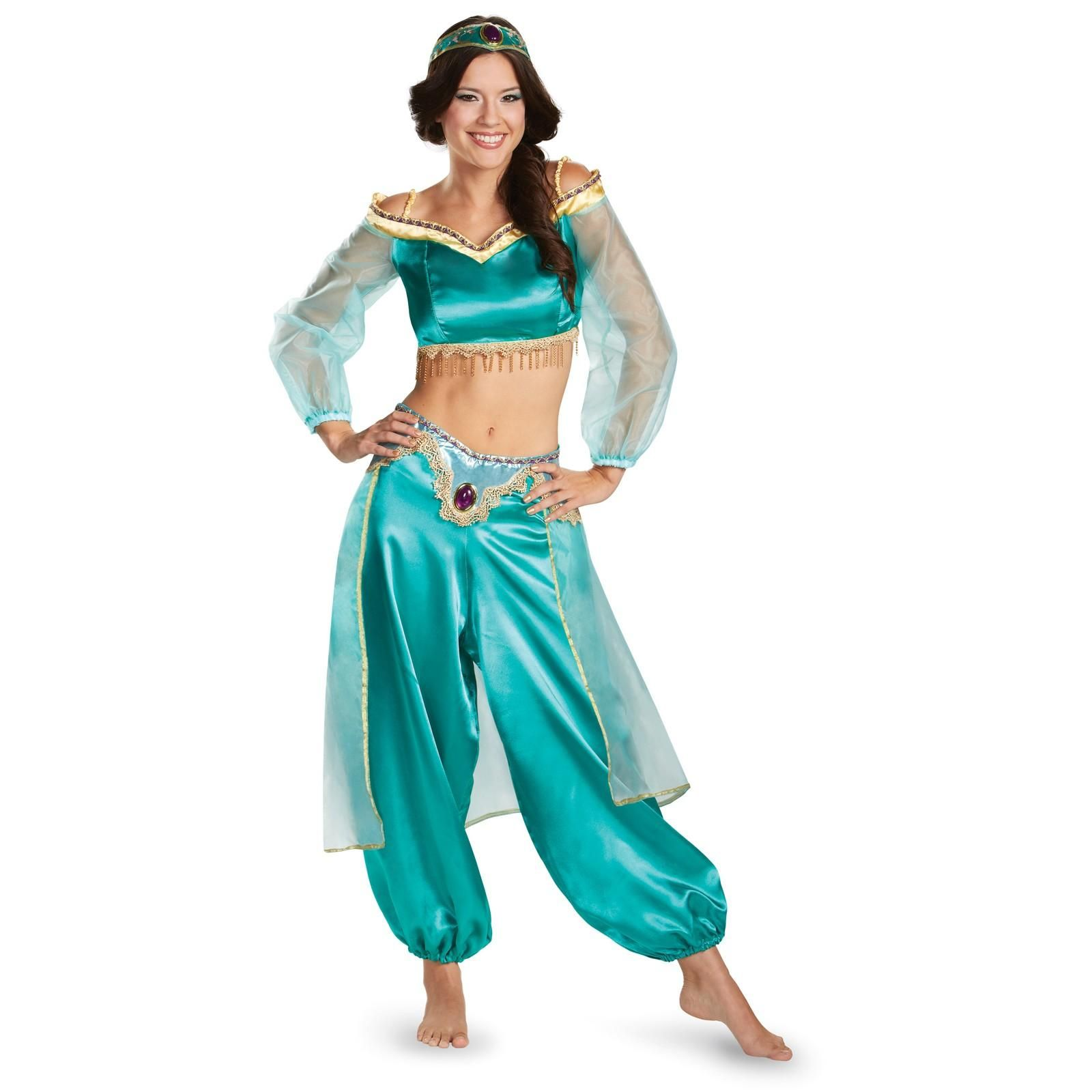 Disney Princess Jasmine Prestige Fab Costume For Women