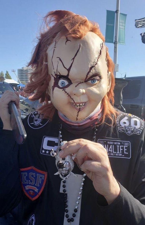 Pin by Raider Chucky on Raider Chucky Carnival face