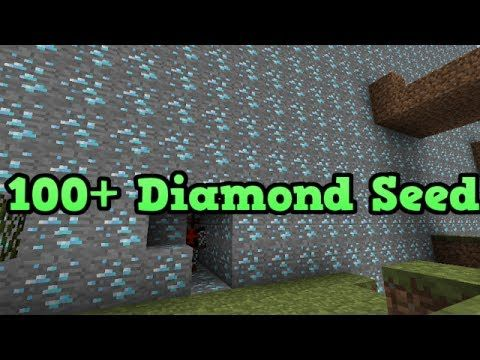 Minecraft PS3 - 100+ Diamonds Seed (Blacksmith Chest and