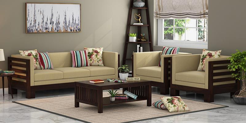 Wooden Sofa Set To Enhance Your House