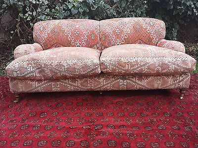 I love bad upholstery George Smith sofa in kilim
