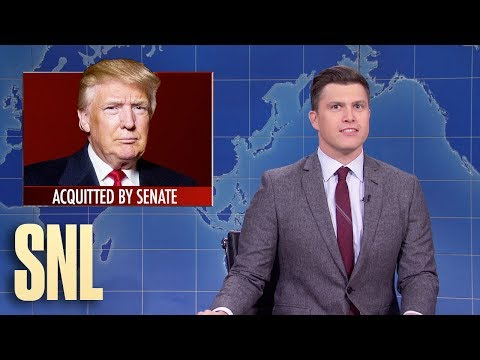 (585) Weekend Update Trump Acquitted SNL YouTube in