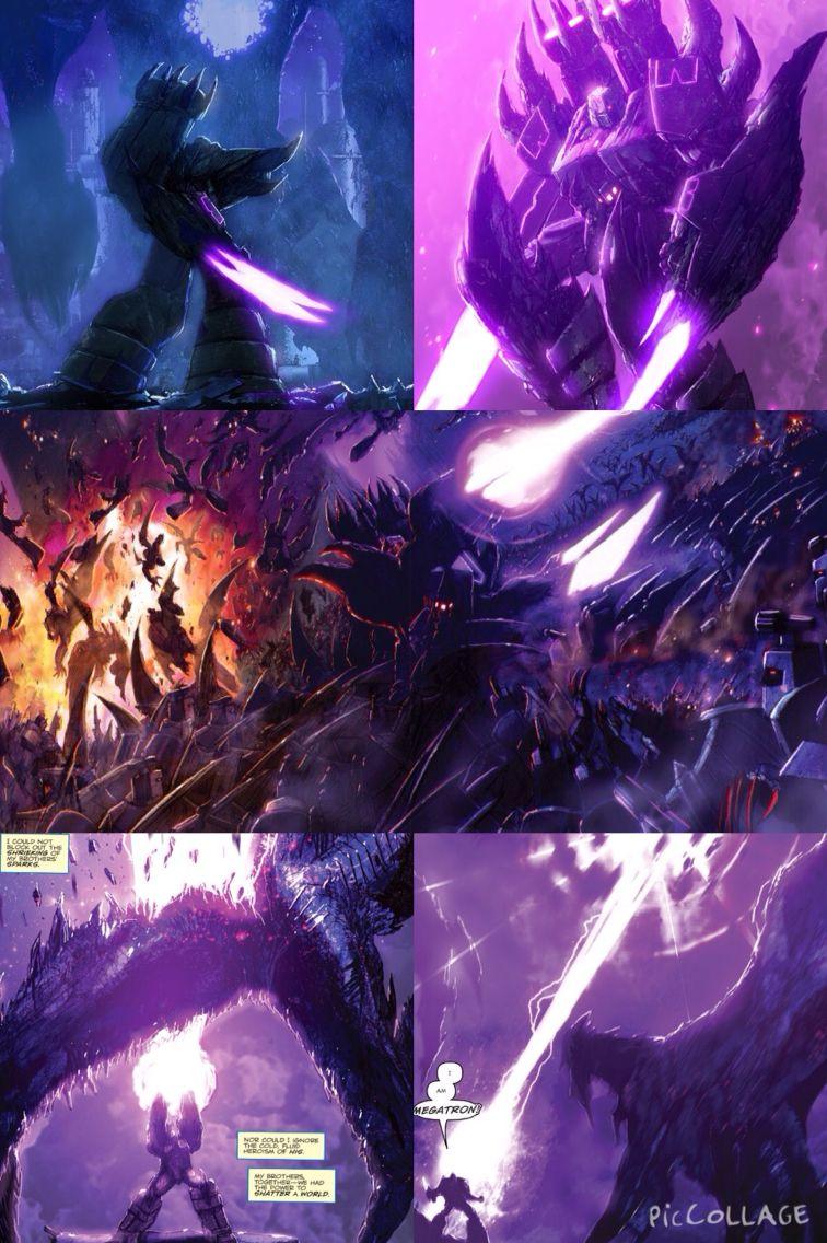 Idw Megatron Wallpaper Transformers Design Transformers Transformers Art
