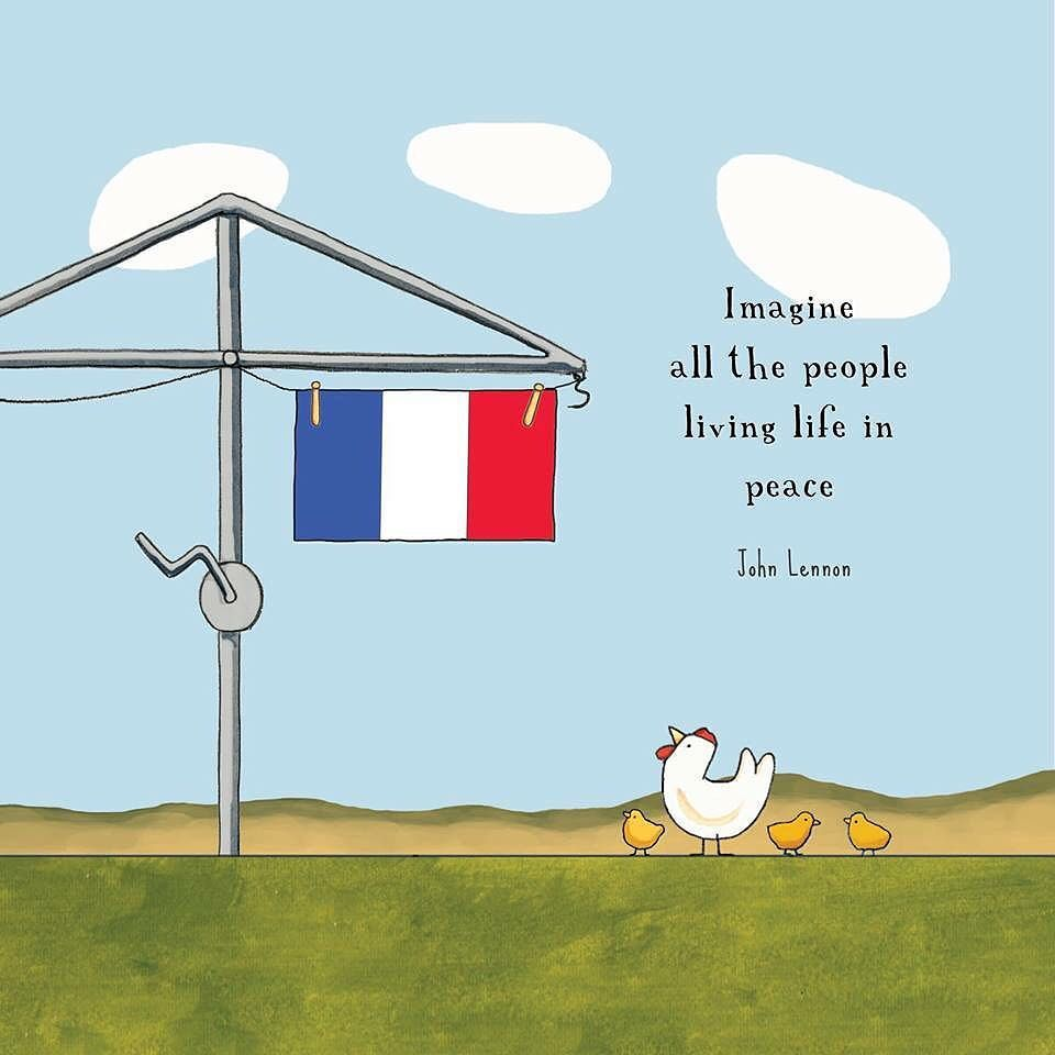 The world needs more #peace#love and #understanding . All my thoughts with #paris #lebanon and the many other effected nations.