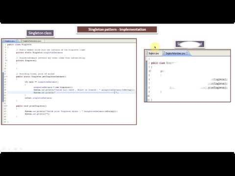 Singleton Design Pattern Implementation Java Servlet Design