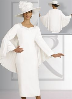 women black or white church suits | Fifth Sunday by Ben Marc ...