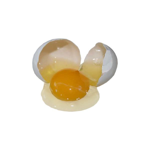 Egg Transparent Raw Egg Liked On Polyvore Featuring Food Fillers Fillers Yellow Food And Drink And Orange Png Egg Art Transparent