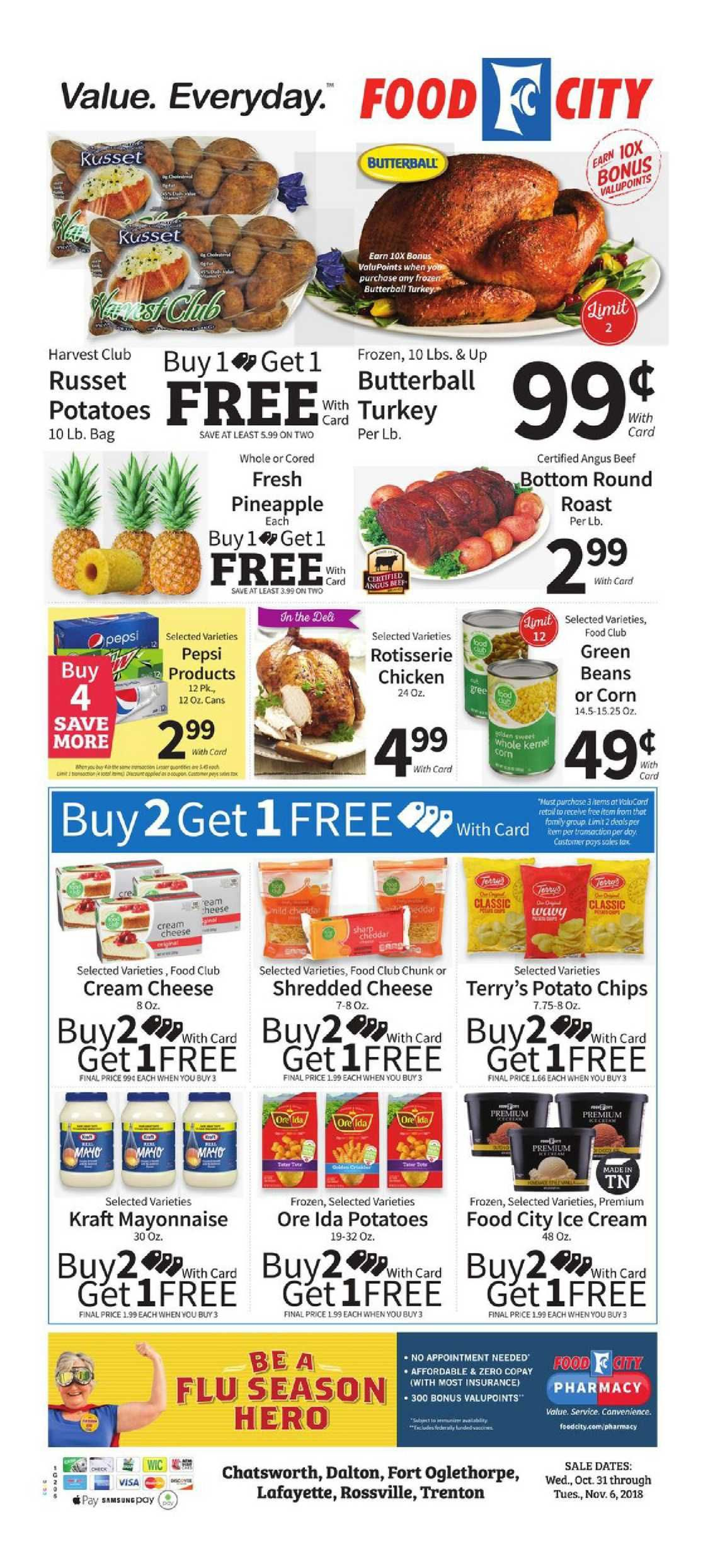 Food City Weekly Ad Flyer December 5 11 2018 Weekly Ad