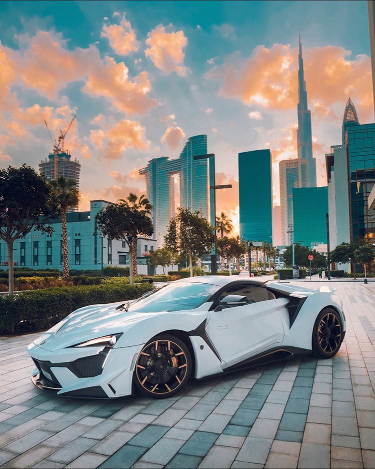 """Photo of W Motors Official Account on Instagram: """"Early morning lights right outside our Showroom in City Walk, Dubai. #WMotors #Fenyr #SuperSport #FenyrSuperSport #SpiritoftheWolf #Dubai"""""""