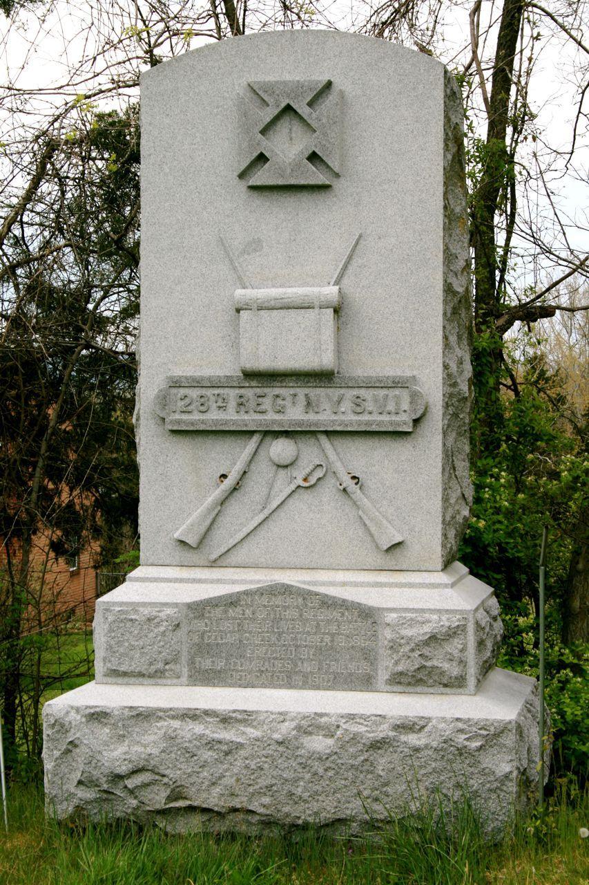 128th New York State Volunteer Infantry Monument, Cedar