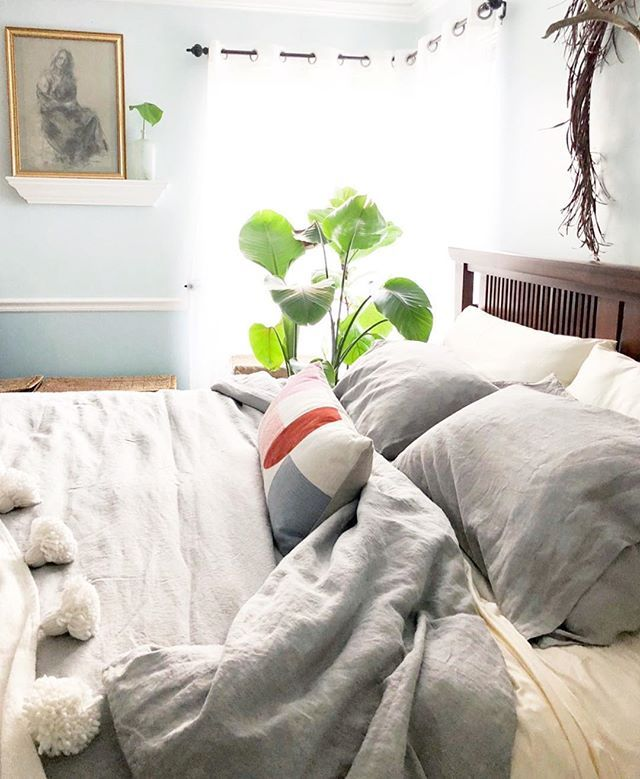 Extra hard to leave this cozy bed this morning. . These ...