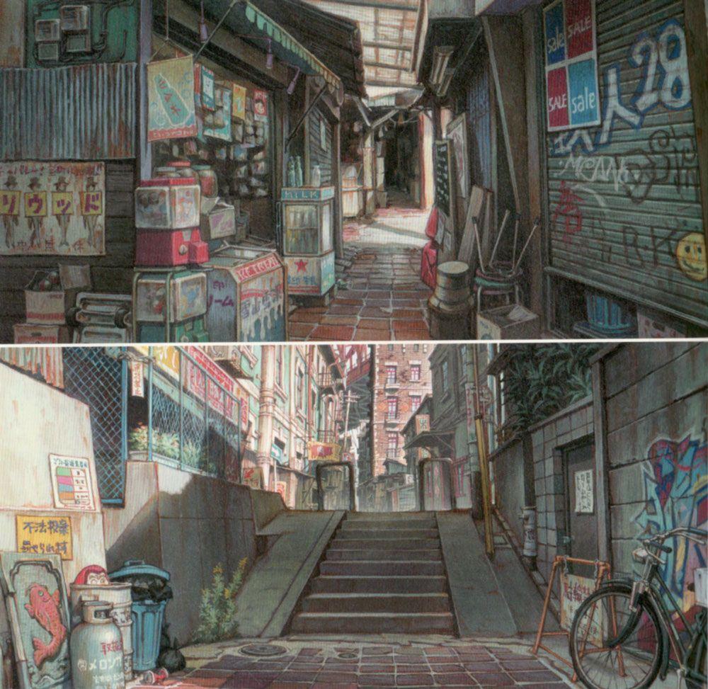 Tekkonkinkreet Shinji Kimura Background Art