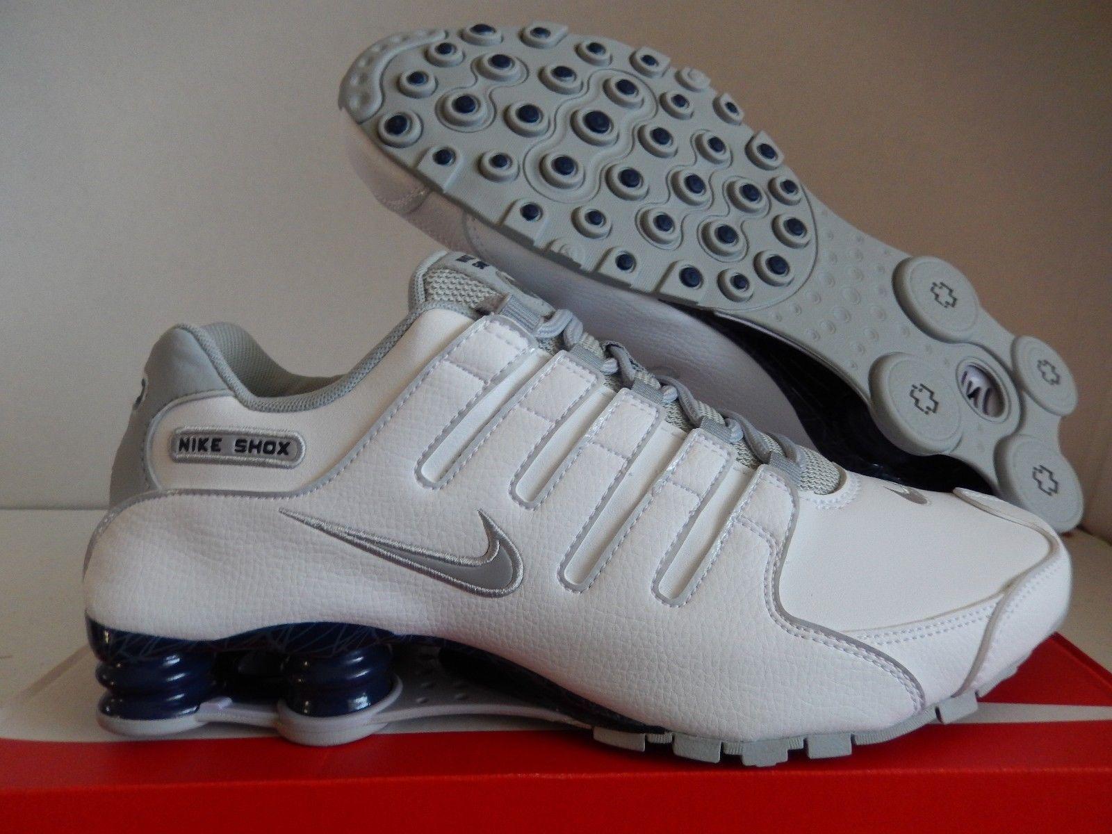 Nike Shox Mens Dîner Blanc jeu explorer mZeGg2U