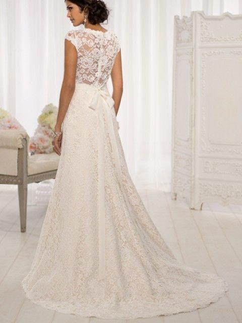 Essense of Australia D1598 Size 16 Wedding Dress – OnceWed.com ...