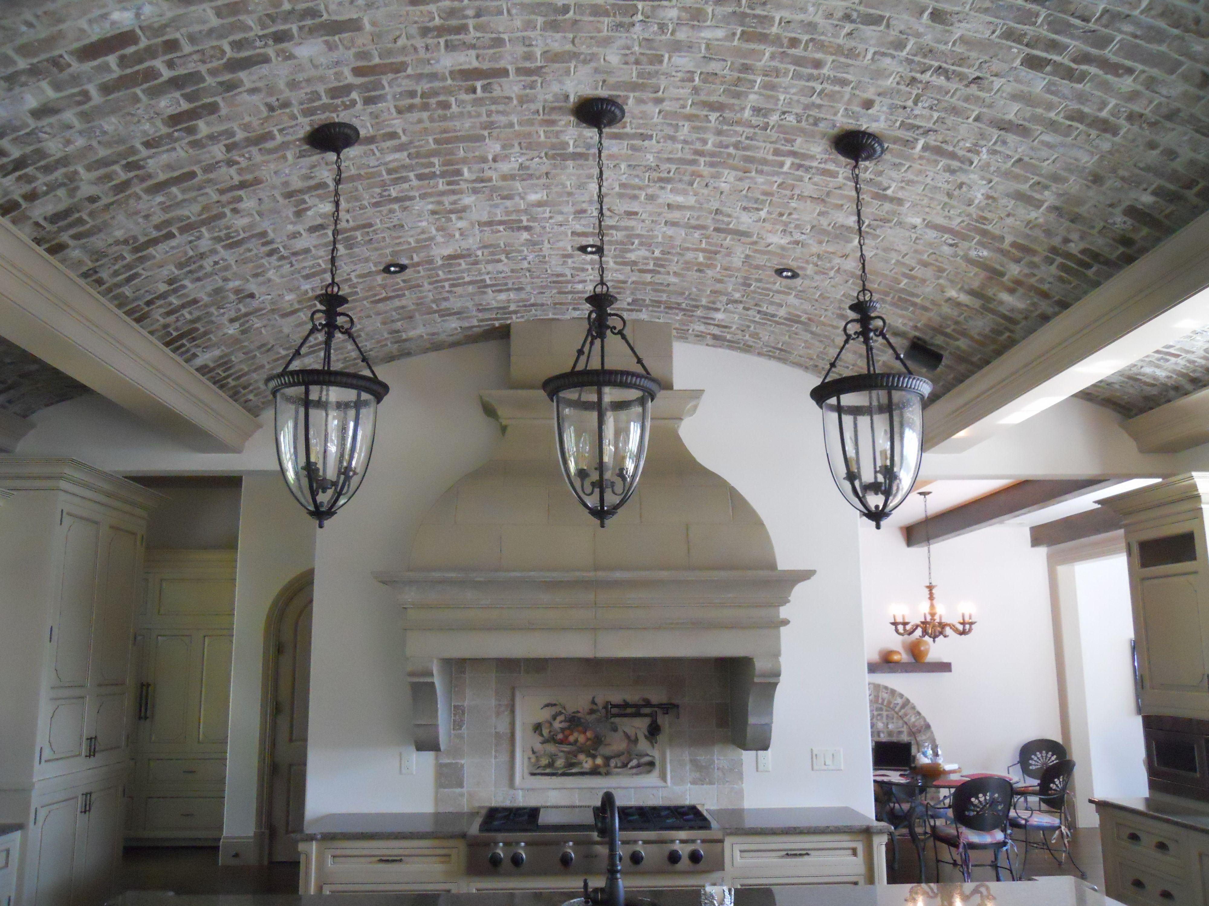 barrel vaulted kitchen ceiling on kiawah island courtesy