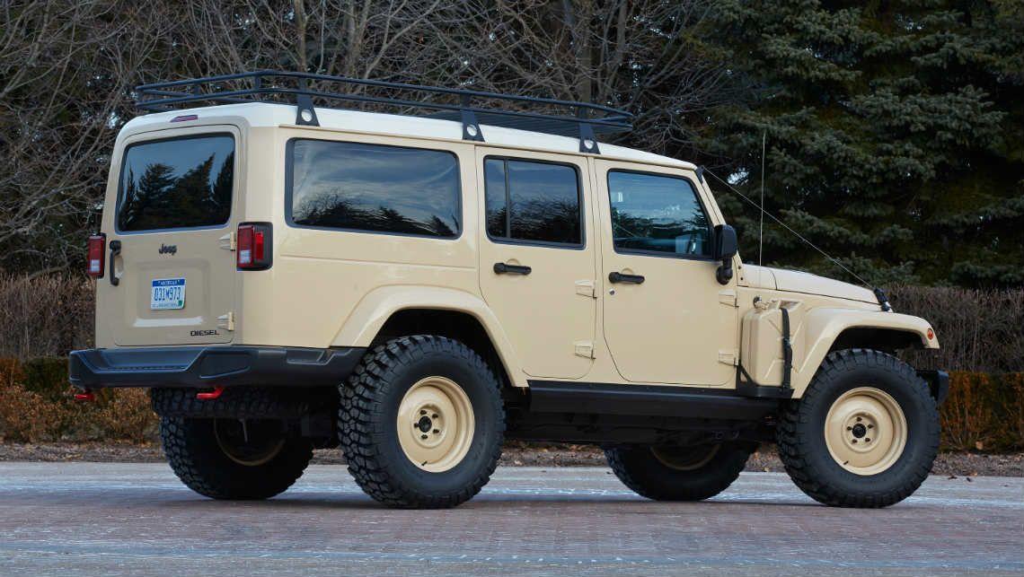 Jeep reveals seven concept cars for 2015 Moab Safari