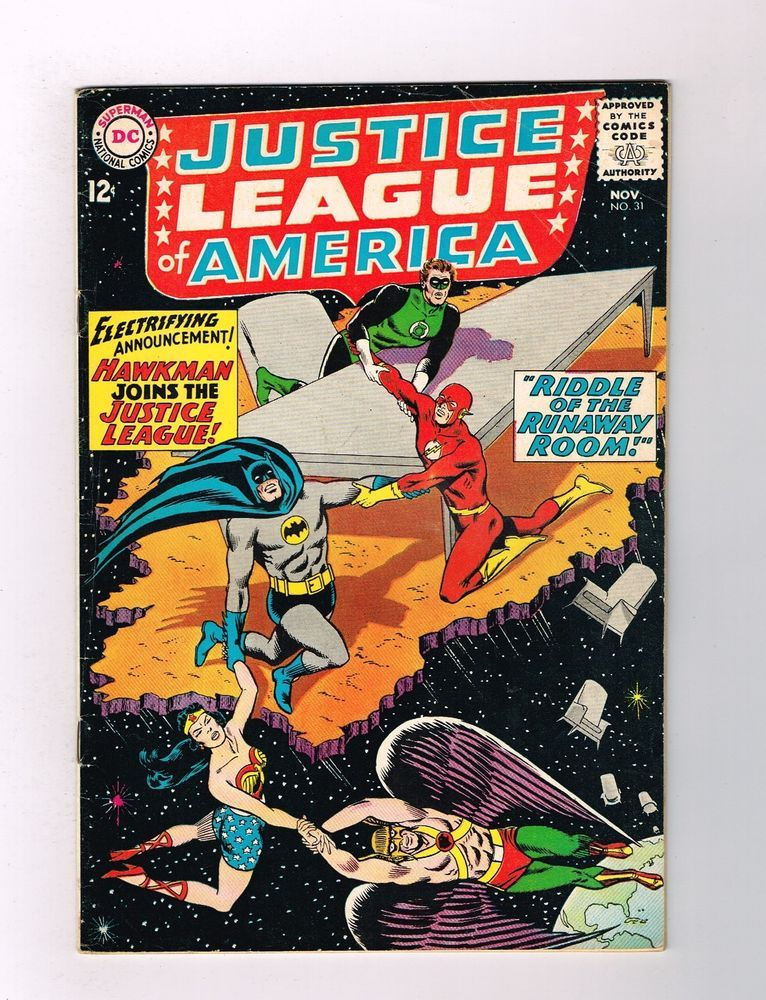 JUSTICE LEAGUE OF AMERICA (V1) 31 Wonderful grade 6.0