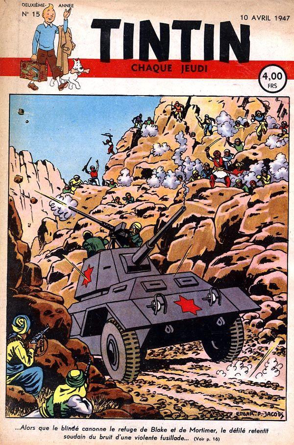 bande dessinee tintin 1947