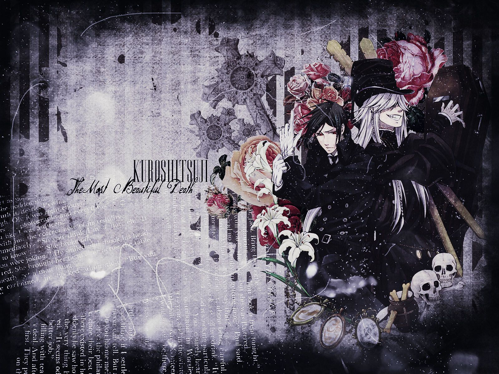 Sebastian And The Undertaker Wallpaper This Is Really Cool