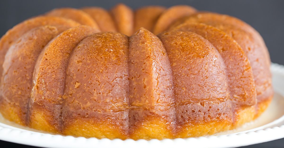 Italian Rum Cake Recipes From Scratch: Homemade Rum Cake From Scratch