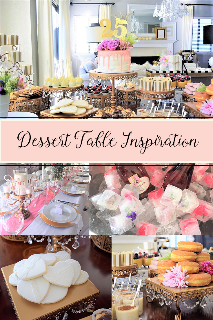 Pink and gold opulent treasures dessert table inspiration featuring pink and gold opulent treasures dessert table inspiration featuring chandelier cake stands pedestal cake stands arubaitofo Image collections